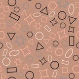 Kulör sömlös bakgrund för abstrakt begrepp stock illustrationer
