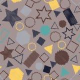 Kulör sömlös bakgrund för abstrakt begrepp vektor illustrationer