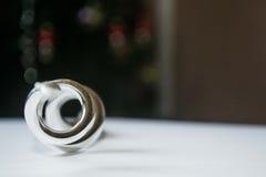 Kulör sfär för silver Arkivfoton