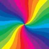 kulör spiral Arkivbild
