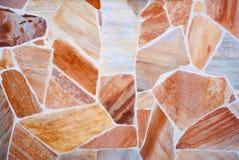 Kulör stenbakgrund Arkivfoto