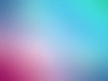 Kulör suddig bakgrund för abstrakta lutningblåttrosa färger royaltyfri illustrationer
