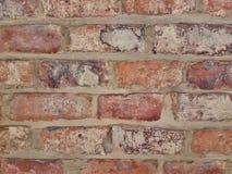 Kulör tegelstenvägg för bakgrund royaltyfri fotografi