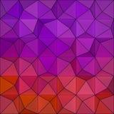 Kulör triangelsbakgrund stock illustrationer