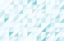 Kulör triangulär modellbakgrund för blått Royaltyfri Bild
