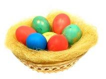 kulöra ägg Fotografering för Bildbyråer