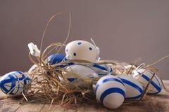 Kulöra ägg för påsk Royaltyfria Bilder