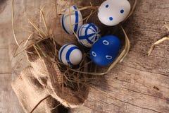 Kulöra ägg för påsk Royaltyfri Fotografi