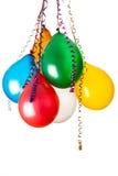 Kulöra ballonger Arkivbilder
