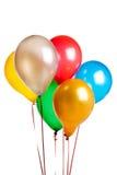 Kulöra ballonger Arkivfoto