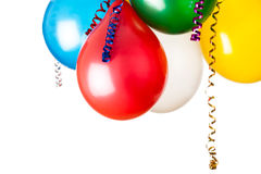 Kulöra ballonger Royaltyfria Bilder