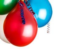 Kulöra ballonger Fotografering för Bildbyråer