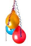 Kulöra ballonger Royaltyfri Foto