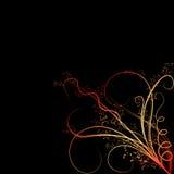 kulöra blommaprydnadar Royaltyfria Bilder