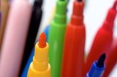 Kulöra blyertspennor 13 Royaltyfria Bilder