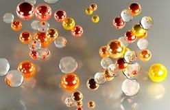 Kulöra bollar Royaltyfri Fotografi
