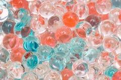 Kulöra bollar av slutet för luftfreshener upp royaltyfri bild