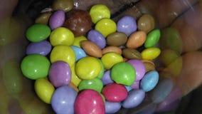 Kulöra chokladbollar Royaltyfria Foton