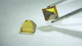 Kulöra diamanter 008 arkivfilmer
