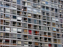 kulöra fönster Arkivbilder