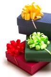 kulöra gåvor Royaltyfri Bild