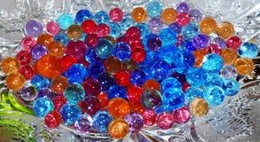 Kulöra gelatinbollar Fotografering för Bildbyråer