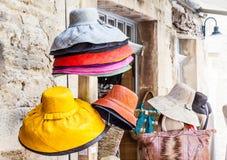 kulöra hattar Royaltyfri Bild