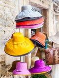 kulöra hattar Arkivbild