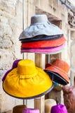 kulöra hattar Arkivbilder
