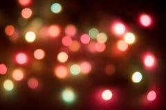 Kulöra lampor Arkivfoto