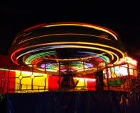 kulöra lampor för cirkel Arkivbild