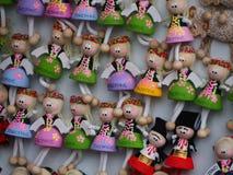 Kulöra leksaker för barn Royaltyfri Bild