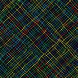 Kulöra linjer Arkivbilder