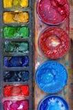 kulöra målarfärger