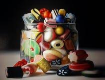 Kulöra söta candys Fotografering för Bildbyråer