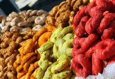 kulöra sötsaker Fotografering för Bildbyråer