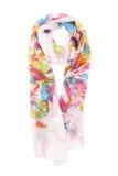 kulöra scarves Arkivbilder