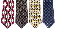 Kulöra slipsar för man` s för dagen för fader` s Arkivfoton