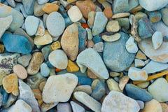 kulöra stenar Arkivbilder