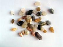 kulöra stenar för bakgrund Royaltyfria Foton