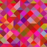Kulöra trianglar Arkivbild