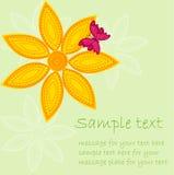 kulört blom- för bakgrund Royaltyfri Fotografi