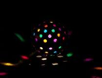 kulört disko för boll fotografering för bildbyråer