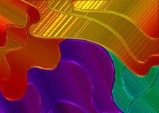 kulört exponeringsglas för bakgrund royaltyfri illustrationer
