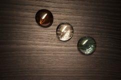 kulört exponeringsglas för knappar Royaltyfria Foton