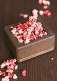 Kulört karamellpopcorn Royaltyfria Bilder