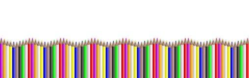kulört ritar på vitbakgrund illustration 3d vektor illustrationer