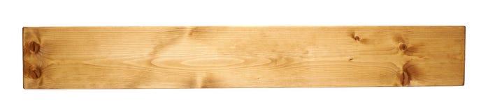 Kulört sörja den isolerade träbrädeplankan royaltyfri bild