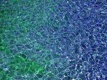 kulört vatten Arkivbild
