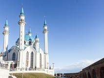 Kul谢里夫清真寺 俄国 城市喀山kul清真寺俄国sharif 免版税图库摄影